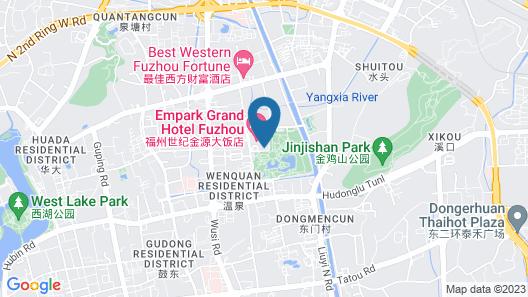 Empark Grand Hotel Fuzhou Map