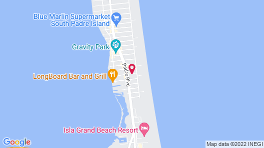 Corral Beach House Vacation Rental Map