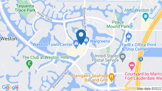 TownePlace Suites by Marriott Fort Lauderdale Weston Map