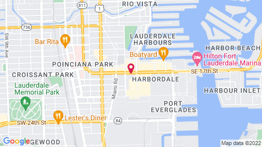 Embassy Suites - Ft. Lauderdale/17th Street Map