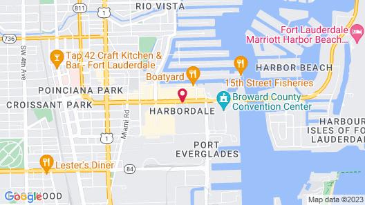 Holiday Inn Express Ft. Lauderdale Cruise-Airport, an IHG Hotel Map
