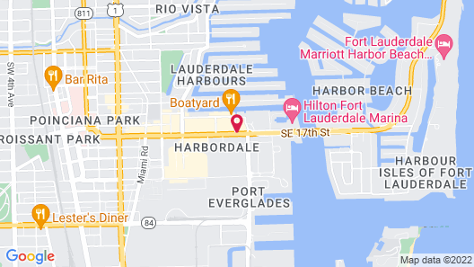 Renaissance Fort Lauderdale Cruise Port Hotel Map