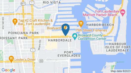 Renaissance Fort Lauderdale Cruise Port Hotel Map