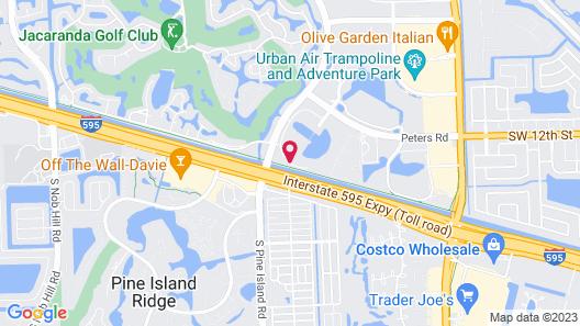 Renaissance Fort Lauderdale West Hotel Map