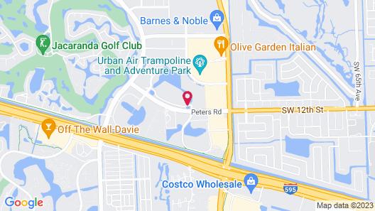 La Quinta Inn & Suites by Wyndham Ft. Lauderdale Plantation Map