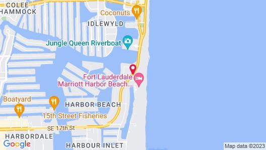 B Ocean Resort Map