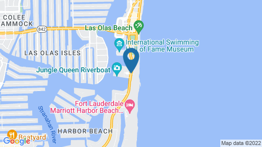 Bahia Mar Ft. Lauderdale Beach- a DoubleTree by Hilton Hotel Map