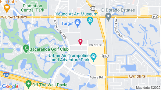 La Quinta Inn & Suites by Wyndham Plantation at SW 6th St Map