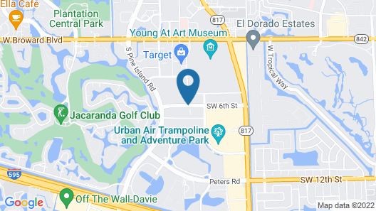 La Quinta Inn & Suites by Wyndham Plantation at SW 6th St Map