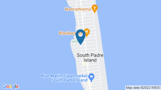 South Padre Island Inn Map