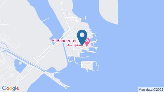 Al Bander Hotel & Resort Map