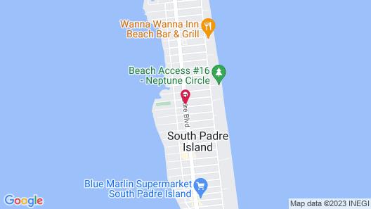 Super 8 by Wyndham South Padre Island Map