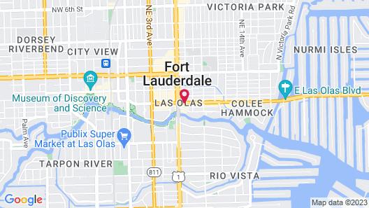 Riverside Hotel Map