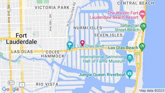 The Villas Las Olas Hotel'Apart Map