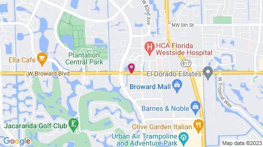 Hyatt Place Ft. Lauderdale/Plantation Map