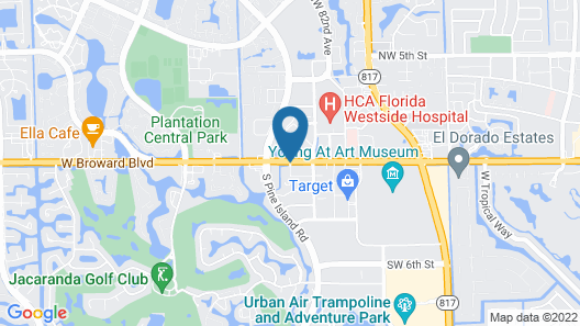 Hyatt Place Ft. Lauderdale/Plantation Map