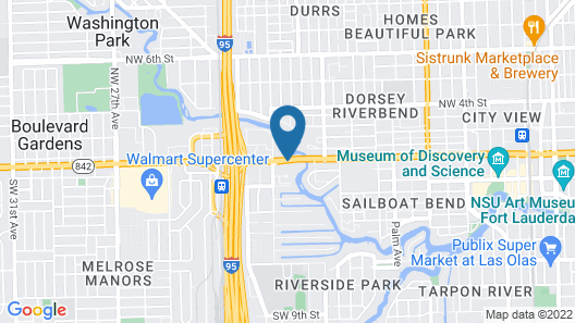 Days Inn by Wyndham Fort Lauderdale Airport Cruise Port Map