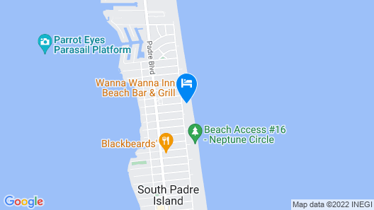 Luxurious Beachfront Condo With Stunning Views Map