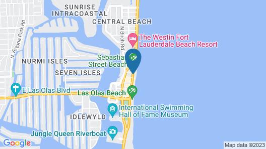 The Ritz-Carlton, Fort Lauderdale Map