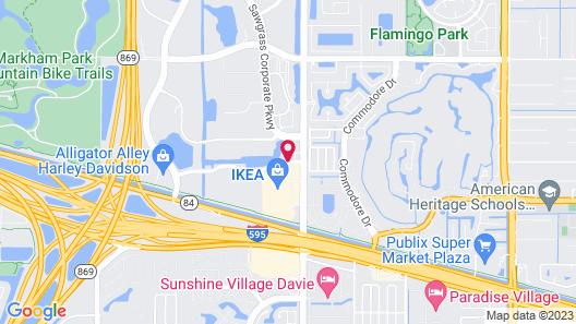 La Quinta Inn & Suites by Wyndham Sunrise Sawgrass Mills Map
