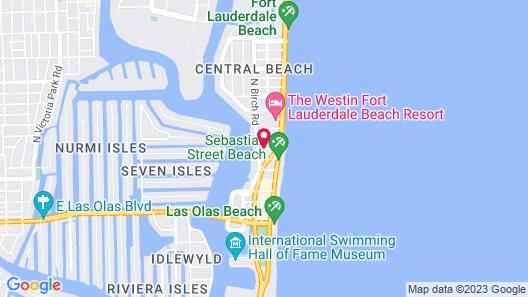 The Drift Hotel Map
