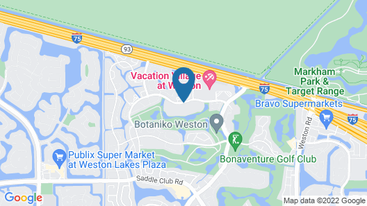 Bonaventure Resort and Spa Map