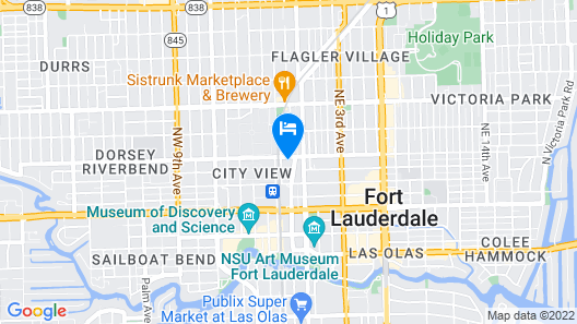 Tru by Hilton Fort Lauderdale Downtown Map