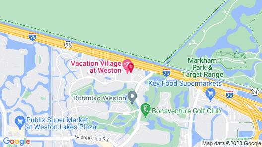 Vacation Village at Weston Map