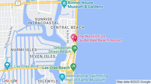 The Westin Fort Lauderdale Beach Resort Map