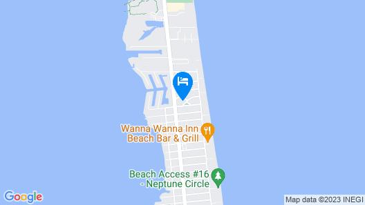 New Listing! Coastal W/ Pool - Walk To Beach 2 Bedroom Condo Map