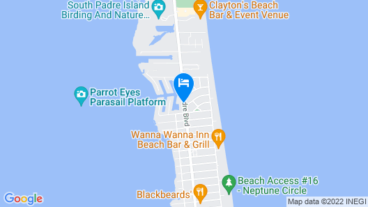 WindWater Hotel & Marina Map