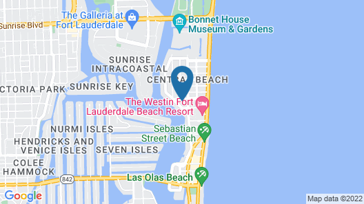Kimpton Goodland Fort Lauderdale Beach, an IHG Hotel Map