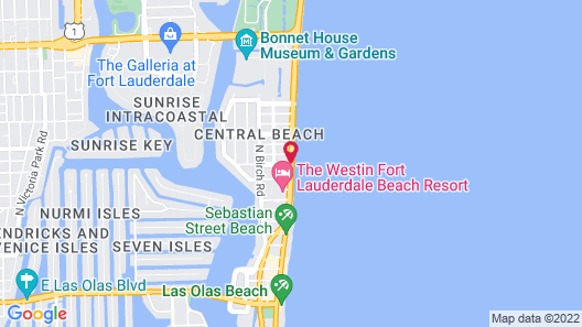 Private Residence at the Fort Lauderdale Beach Resort Map