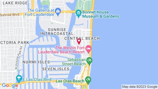 The Reef A North Beach Village Resort Hotel Map