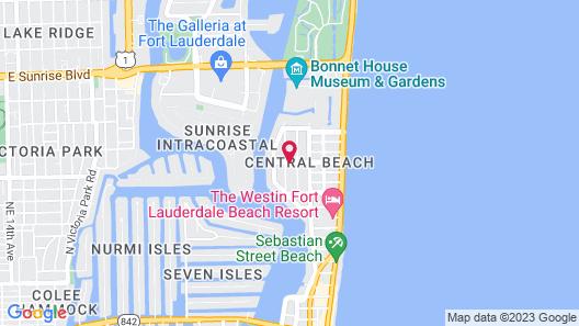 Winterset A North Beach Village Resort Hotel Map