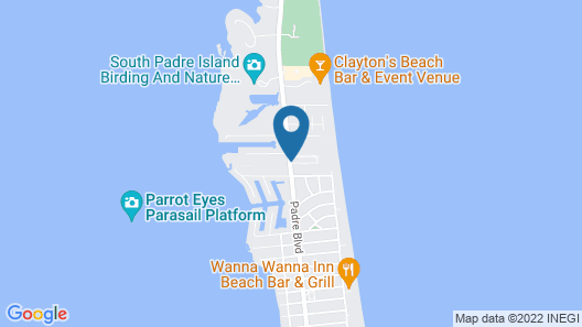 Ramada by Wyndham & Suites South Padre Island Map