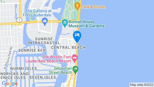 Sea Club Resort Map