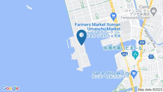 Southern Beach Hotel & Resort OKINAWA Map