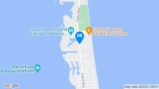 Holiday Inn Express Hotel & Suites South Padre Island Map