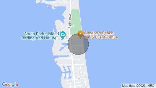 Cozy Condo in Tiki Complex With Private Beach Access Map