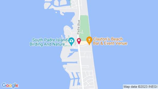 La Quinta Inn & Suites by Wyndham South Padre Island Beach Map