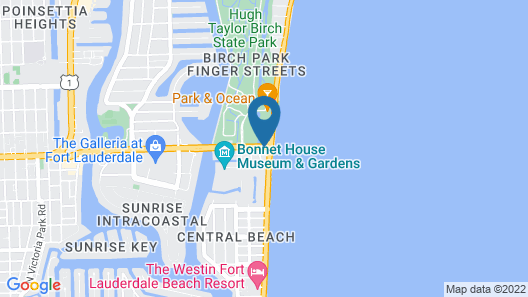 Sonesta Fort Lauderdale Beach Map