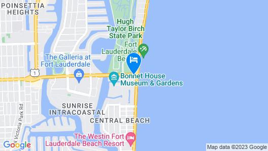 Sonesta Fort Lauderdale Beach Map
