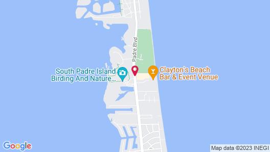 Hilton Garden Inn South Padre Island Beachfront Map