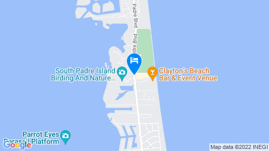 Hilton Garden Inn South Padre Island Beachfront Map