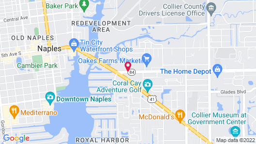 Red Roof Inn PLUS+ & Suites Naples Downtown-5th Ave S Map