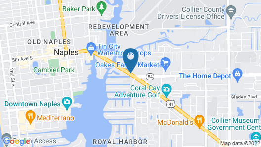 La Quinta Inn & Suites by Wyndham Naples Downtown Map