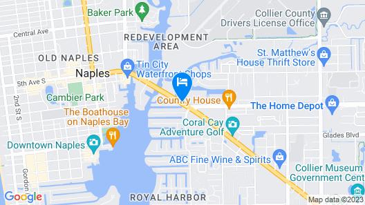 La Quinta Inn & Suites by Wyndham Naples Downtown Map