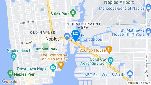 Hyatt House Naples/5th Avenue Map