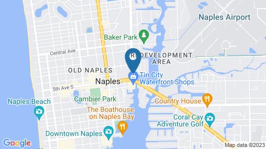 Bayfront Inn Fifth Avenue Map